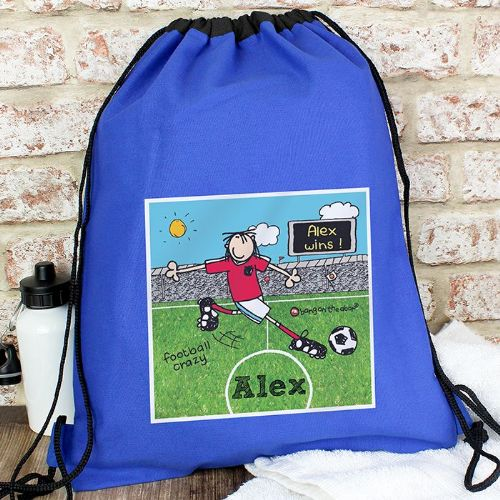Bang On The Door Football Crazy Swim & Kit Bag